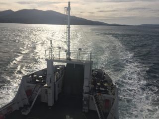 Ferry home from Mull