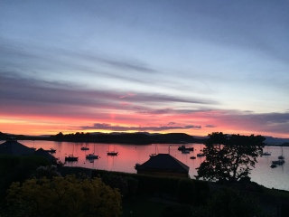 Sunset over Kerrera
