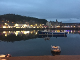 Oban by night