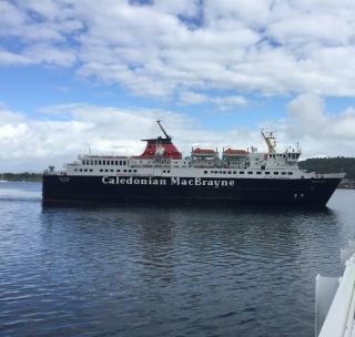 CalMac ferry Oban