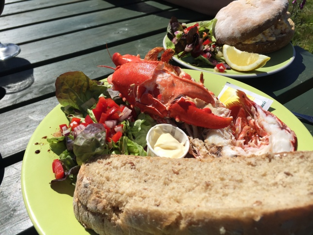 Lobster at the Boathouse, Ulva
