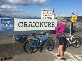 Craignure port on Mull